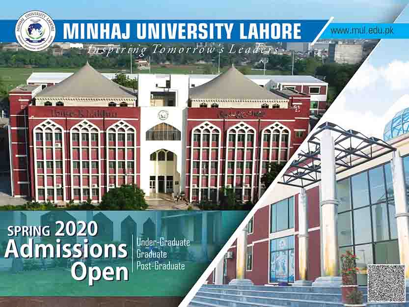 Admissions Open Spring 2020