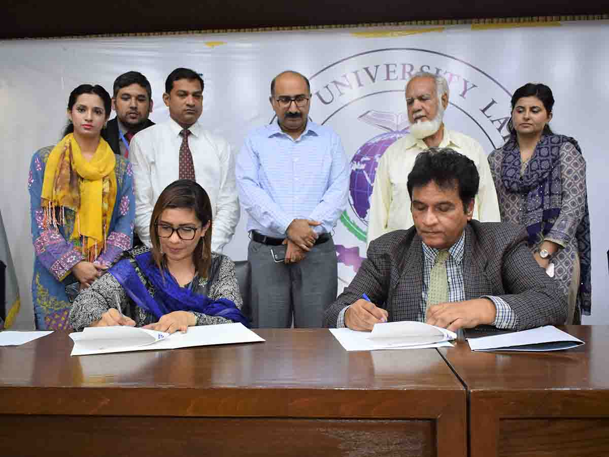 MOU signed with Chughtai Labs