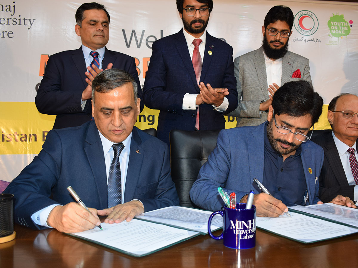 MOU with Red Crescent Society of Pakistan